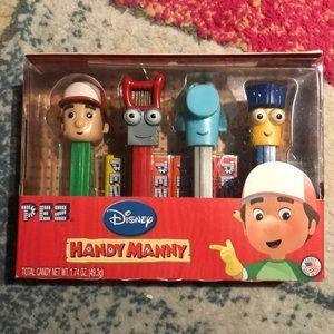 Disney handy manny pez Dispensers Set new box